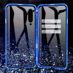 New Bakeey 360º Front+Back Double-sided Full Body 9H Tempered Glass Metal Magnetic Adsorption Flip Protective Case For Xiaomi Mi 9 SE