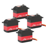 New 4PCS JX PDI-HV5932MG-360° Coreless 30KG Metal Gear Large Torque Digital Servo For RC Robot