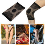 New Copper Infused Knee Support Brace Patella Arthritis Leg Support Joint Compression Sleeve
