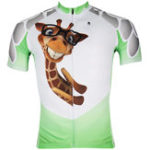 New Men Short Cycling Jersey Sleeve Breathable Quick Dry Full Zipper Bicycle Scooter Shirts