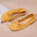 New Women Casual Fashion Butterfly Knot  Flats