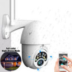 New 5X Zoom HD 2MP IP Security Camera WiFi Wireless 1080P Outdoor PTZ Waterproof Night Vision ONVIF