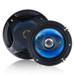 New 1Pair 6/6.5 Inch Car Coaxial Auto Music Stereo Full Range Frequency Hifi Speaker Non-destructive Installation