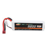 New XF POWER 7.4V 5200mAh 60C 2S Lipo Battery T Plug for 1/8 1/10 RTR RC Car