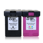 New TIANSE 1 Pc HP 901 Replacement Ink Cartridge 901XL for HP 901 HP901 XL for HP Officejet 4500 J4500 J4540 J4550 J4580 J4640 J4680 Printer Ink