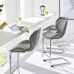 New 4Pcs/1Set Bar Beach Chair Modern Design for Dining And Kitchen Barstool with Metal Legs Set