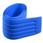 New 8x90cm Car Rear Bumper PVC Rubber Protector Cover Sill Plate Trunk Pad Trim