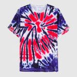 New Mens Fashion Pattern Printing Crew Neck T-shirts Summer Tops