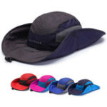 New Mens Foldable Breathable Bucket Hat