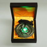 New Dr. Strange Luminous Eye of Agomoto Necklace Alloy Built-in Lithium Electronic Switch Toys With Box Packaging