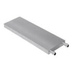 New 60x180x12mm Aluminum Water Cooling Block For CPU Semiconductor Cooling Radiator Heatsink