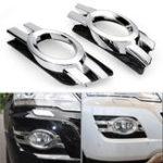 New Chrome Front Fog Light Cover Trim For Mercedes-Benz M ML Class W164 2008-2011