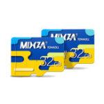 New Mixza Colorful Edition 32GB U1 Class 10 TF Micro Memory Card for Digital Camera TV Box MP3 Smartphone