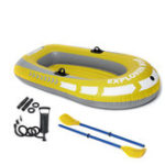 New 2 Person Inflatable Rubber Boat Kayak / 2 Person Boat With Oars Pump Ropes 188x114CM