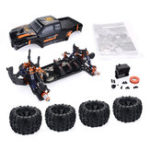 New ZD Racing MT8 Pirates3 1/8 4WD 90km/h Brushless RC Car Kit without Electronic Parts