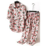 New Printed Cotton Pajama Set