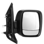 New Car Right Electric Black Wing Mirror For Vauxhall Vivaro Renault Trafic Van 2015-18
