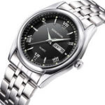 New KINGNUOS 1858 Full Steel Casual Style Men Wrist Watch