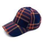 New Unisex Plaid Baseball Cap