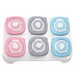 New 90ml 120ml 6Pcs/set Baby Kids Food Storage Box Lunch Snack Supplement Milk Powder Container