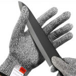 New Safety Anti Cut Stab Stainless Steel Metal-Resistant Mesh Work Gloves for Butcher