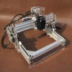 New 31x26x23cm 12V 500mW Desktop DIY Laser Engraver Engraving Machine Picture CNC Printer