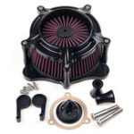 New Motorcycle Air Cleaner Intake Filter For Harley T ouring 17-19 S oftail 2018
