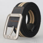 New KALOAD P8 125cm 3.8cm Unisex Casual Belts + Outdoor Sport Tactical Belt Pin Buckle Canvas Waist Belt For Women Man