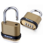 New 4 Digit Password Padlock Security Door Lock Waterproof Outdoor 10000 Combinations