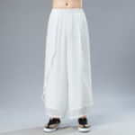 New Mens Casual Chinese Style Light Thin Summer Loose Pants