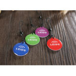 New (4 Pcs/Lot) Ntag216 NFC Tag Card Key Token 13.56mhz RFID 868 Bytes Card Label Keychain for All NFC Android Phone
