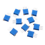 New 100pcs 3296W 5K ohm Trimpot Trimmer Potentiometer