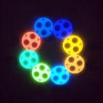 New Lumintop 2×19.7mm Self Illuminate Turboglow Glow Gasket For FW3A & Carclo 105XX Most Triple Optic Light Flashlight