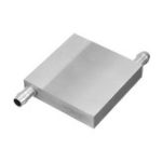 New 60x60x12mm Aluminum Water Cooling Block For CPU Semiconductor Cooling Radiator Heatsink
