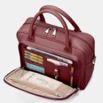 New Brenice Women Designer Travel Laptop Bag Solid Crossbody Bag