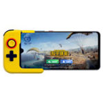 New Betop G1 bluetooth 5.0 Wireless Single Hand Gamepad Controller for iPhone Huawei Xiaomi Mobile Phone for PUBG Game Blue Yellow