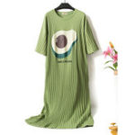 New Print Cotton Nightgown