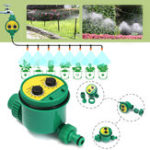 New Garden Irrigation Controller Two Dial Electronic Water Timer Home Plant Flower