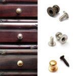 New Mini Decorative Jewelry Box Chest Case Cabinet Drawer Door Pull Knobs Handle