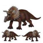 """New 8"""" Triceratops Dinosaur Figure Educational Toys Collectible Christmas Gift Kids"""