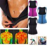 New Women Front Zip Sports Trainer Cincher Corset Waist Shapewear Vest Plus Size Polyester Neoprene Vest