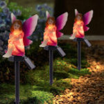 New Waterproof Solar LED Landscape Light Fairy Animal Ornament Lamp Garden Path Lawn Decor