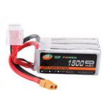 New XF POWER 22.2V 1500mAh 120C/240C 6S Lipo Battery XT60 Plug for FPV RC Racing Drone