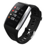 New Bakeey Q7 Dynamic Heart Rate 30m Waterproof Diving 8 Sports Mode Message SMS Reminder Smart Watch Band