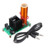 New 3pcs Assembled Music Tesla Coil Mini Plasma Horn Speaker 15W 2A DC 15-24V Module