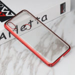 New Bakeey Luxury Shockproof Elac-plating Transparent Hard PC Protective Case For Xiaomi Mi Play