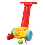 New Plastic Baby Kids Walker Scoop Whirl Ball Toddler Music balanced Walking Push Toys