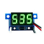 New 5pcs Green Light Mini 0.36 Inch DC Current Meter DC0-999mA 4-30V Digital Display With Reverse Connection Protection Ammeter