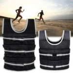 New 5-20kg Running Equipment Weight-bearging Vest Empty Vest Fitness Weightlifting Training Vest