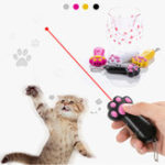 New Zanlure C4 Mini Red Laser Funny Cat Toy 3Modes Rechargeable Pet Chasing Toys